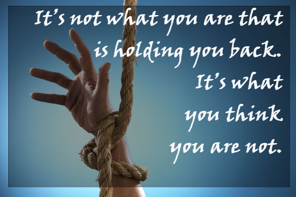 what holds you back quote