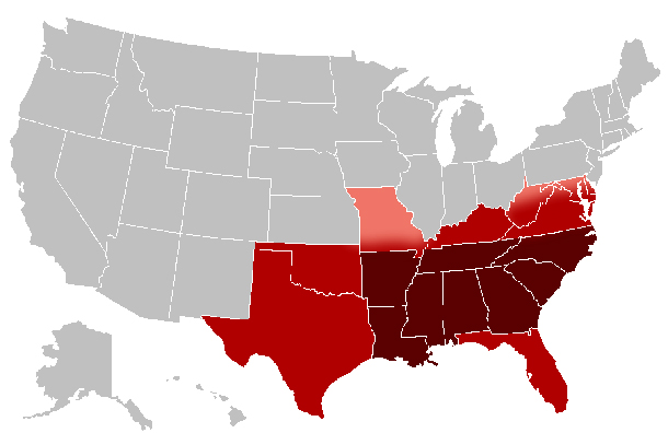 US_Southern_states