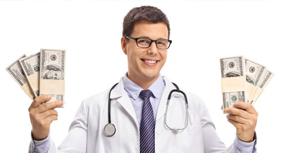 Hacks For Adulting That Might Make Life a Little Less Intimidating - Doctor holding money