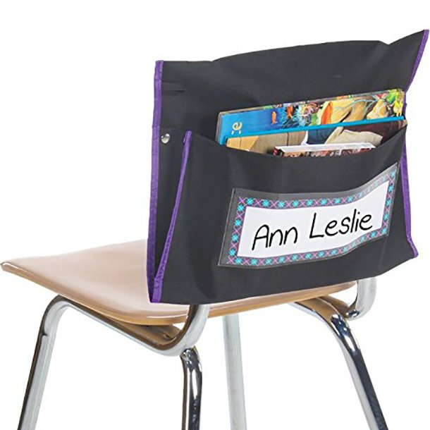 student chair pocket