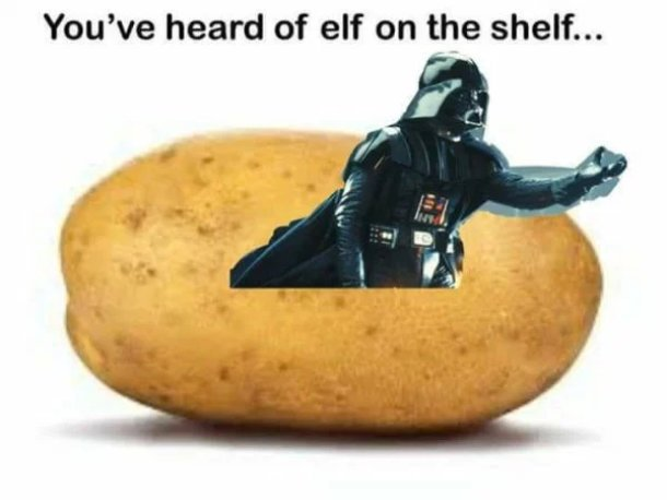 vader on a tater