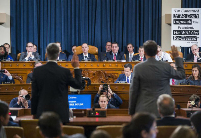 Impeachment-hearing-Diplomat-says-Ukraine-aid-depended-on-Biden-probes